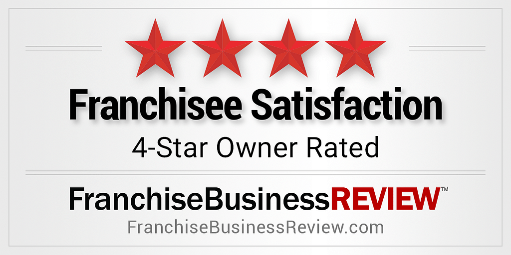 Franchisee Satisfaction 4-star Owner Rated