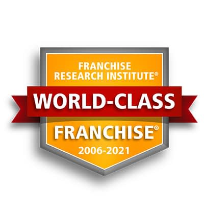 Franchise Research Institute World-Class Franchise 2006-2021