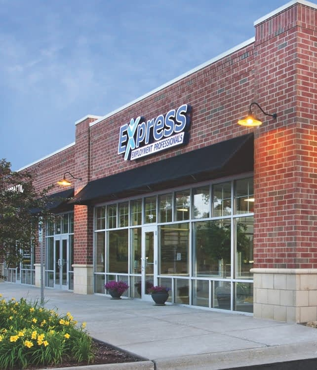 Exterior image of an Express location